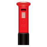 Red Mail Box-England-London-Icon-symbol royalty free illustration