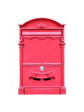 Red mail box stock photo