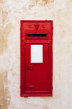 Red mail box, Malta Stock Photography