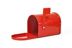 Red, mail, box Stock Image