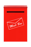 Red Mail Box Stock Images