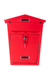 Red mailbox Royalty Free Stock Image