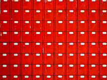 Red mailboxes Stock Photos