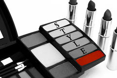 Red Make up care Royalty Free Stock Photo
