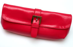 Red Make up Purse Stock Photos