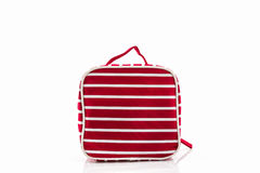 Red makeup bag. Stock Images