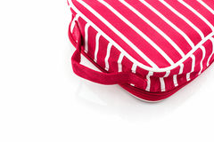 Red makeup bag . Stock Image