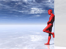 Red man Stock Photography