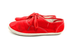 Red Man Shoes Stock Photos