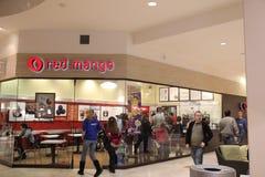 Red Mango frozen yogurt store Stock Photography