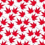 Red maple leaves. Seamless pattern. Canada. Japanese symbolism. illustration vector illustration
