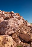 Red marble Stock Images