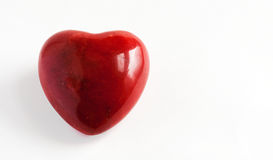 Red Marble Heart Stock Photos
