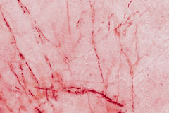 Red marble patterned texture background, Detailed genuine marble from nature. Royalty Free Stock Image