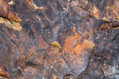 Red marble-rock Stock Photos