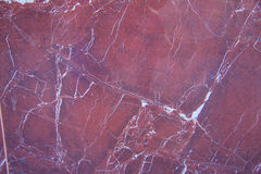 Red marble texture. Red colored natural marble panel, texture/background Stock Photo