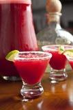 Red margaritas, studio shot Stock Photo