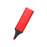 Red marker Stock Image