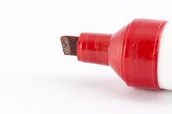 Red marker Stock Images