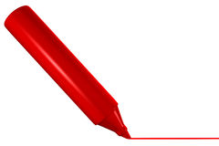Red marker Stock Photo