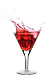 Red martini Stock Images