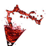 Red Martini Royalty Free Stock Photo