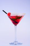 Red martini cocktail Royalty Free Stock Images