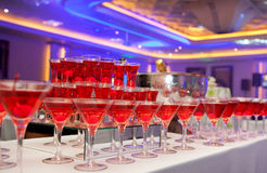 Red Martini Colors Royalty Free Stock Photography