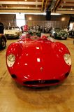 Red Maserati Barchetta veteran car Royalty Free Stock Photo