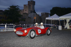 A red Maserati A6 Royalty Free Stock Images
