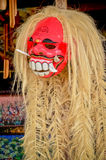 Red mask of god is the cultural of Bali. Indonesia Stock Photo