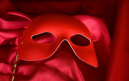 Red mask Royalty Free Stock Image