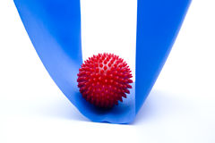 Red massage ball Stock Images