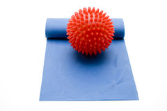 Red massage ball Royalty Free Stock Photography