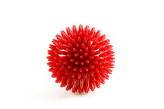 Red Massage Ball Stock Photo
