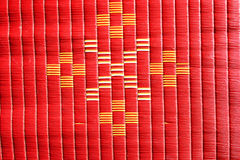 Red mat texture background Royalty Free Stock Photo