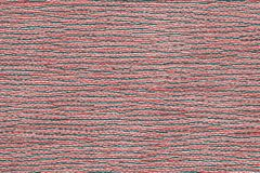Red mat from thailand with straw patterns and shapes royalty free illustration