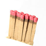Red Matches Stock Images