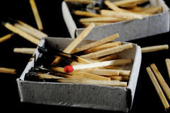 Red match Stock Photography