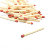 Red match Royalty Free Stock Photo