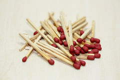 Red match Stock Images