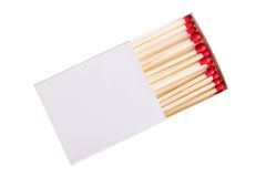 Red matches Royalty Free Stock Image