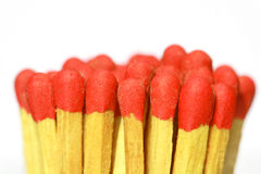 Red matches Stock Photo