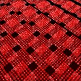 Red matrix surface background Stock Image