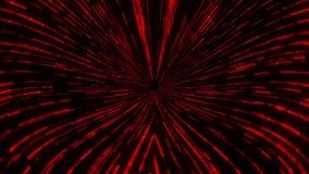 Red Matrix Wormhole Vortex Tunnel VJ Loop Motion Background. Sci-Fi Red Matrix Wormhole Vortex Tunnel VJ Loop Motion Background Backdrop stock footage