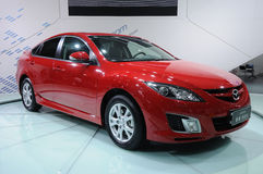 Red mazda 6 Stock Images