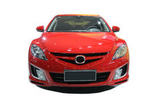 Red  mazda 6 Royalty Free Stock Images