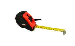 Red Measuring tape Royalty Free Stock Image