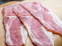 Red meat bacon Royalty Free Stock Photos