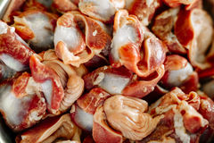 Red meat, gizzard Royalty Free Stock Photography